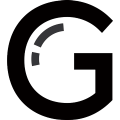 Logo g gallerr black